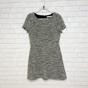 Ann Taylor LOFT Mini Tweed Front Pocket Dress